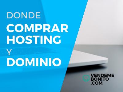Comprar hosting dominio