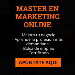 Master Online en Markeing Digital