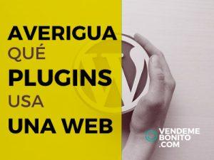 averigua que plugins usa una web en wordpress