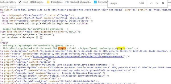 averiguar plugins y temas de  wordpress usa una web