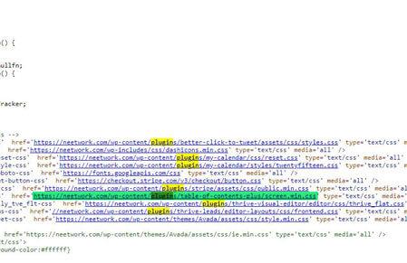 averiguar qué plugin o tema de wordpress usa una web
